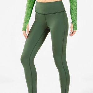 Fabletics High-Waisted Cold Weather Legging- Small